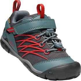 Keen Chandler CNX WP Shoes Children stormy weather/firey red